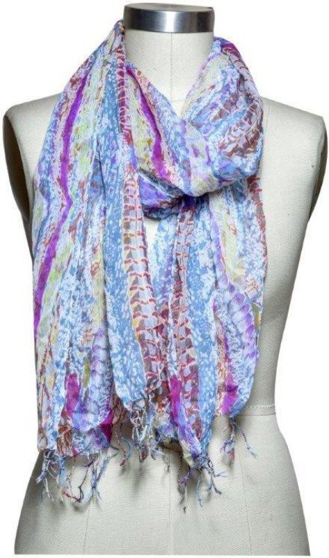 Studio B40 Printed viscose poly Women's Stole