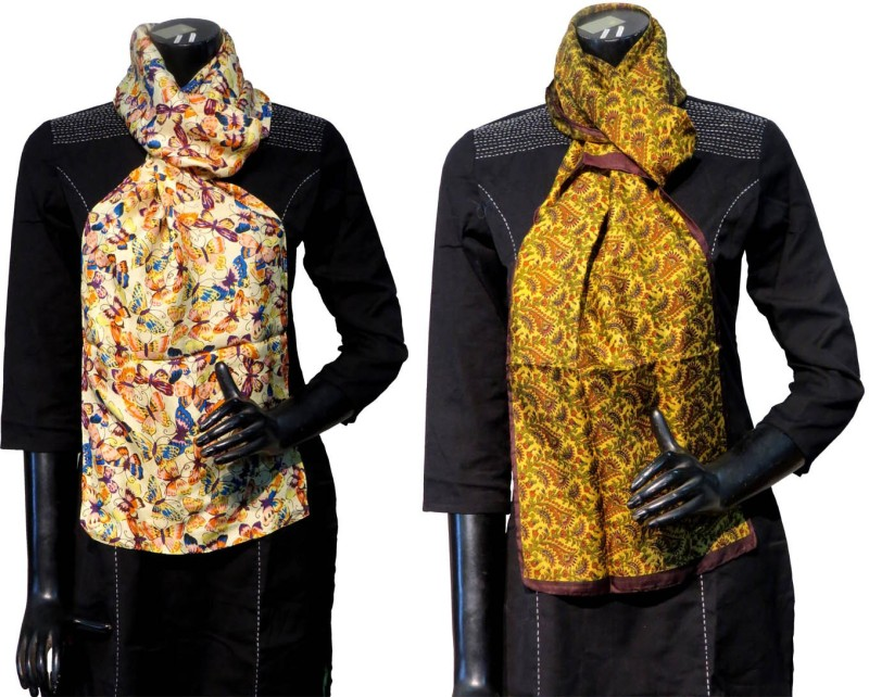 Bhoomija Printed Silk Women's Stole