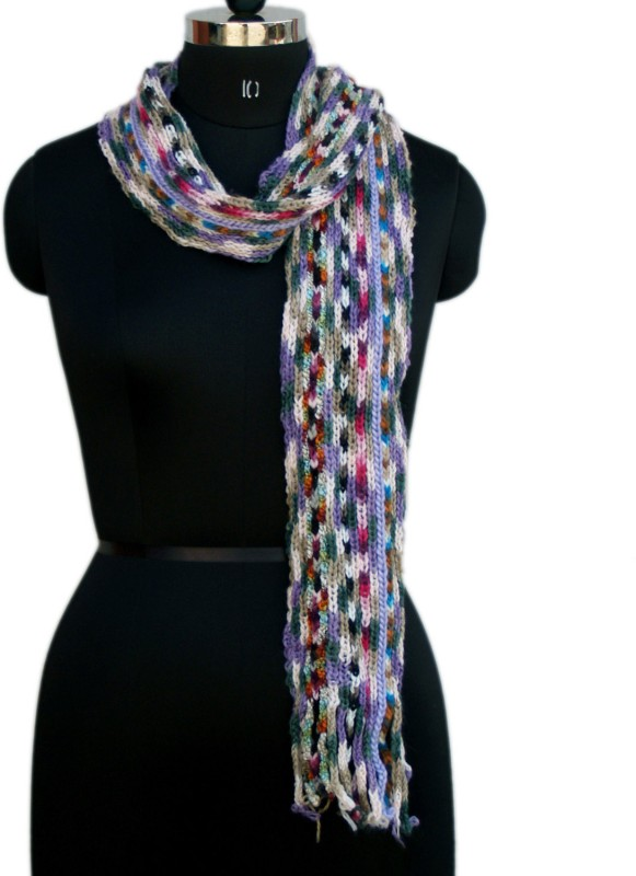 VR Designers Woven Acrylic Blend Women Scarf