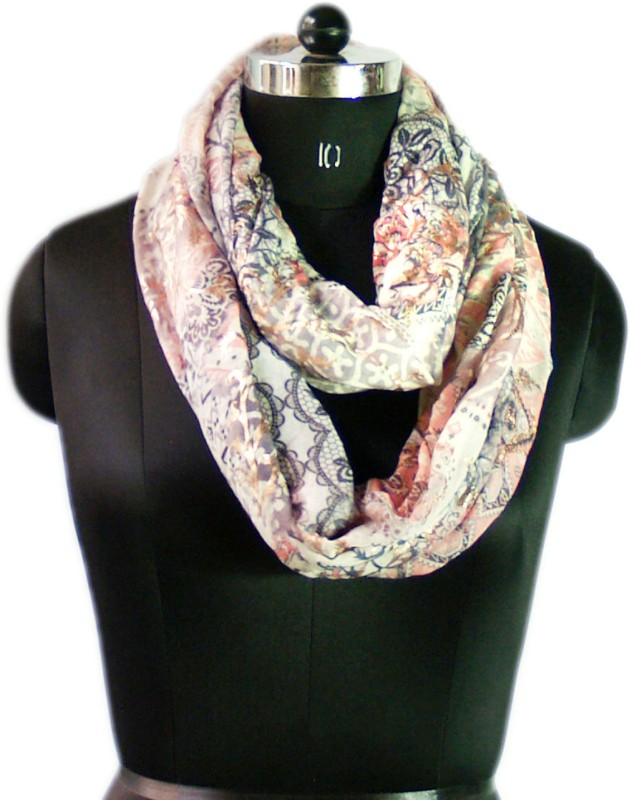 VR Designers Printed Polycotton Women Scarf