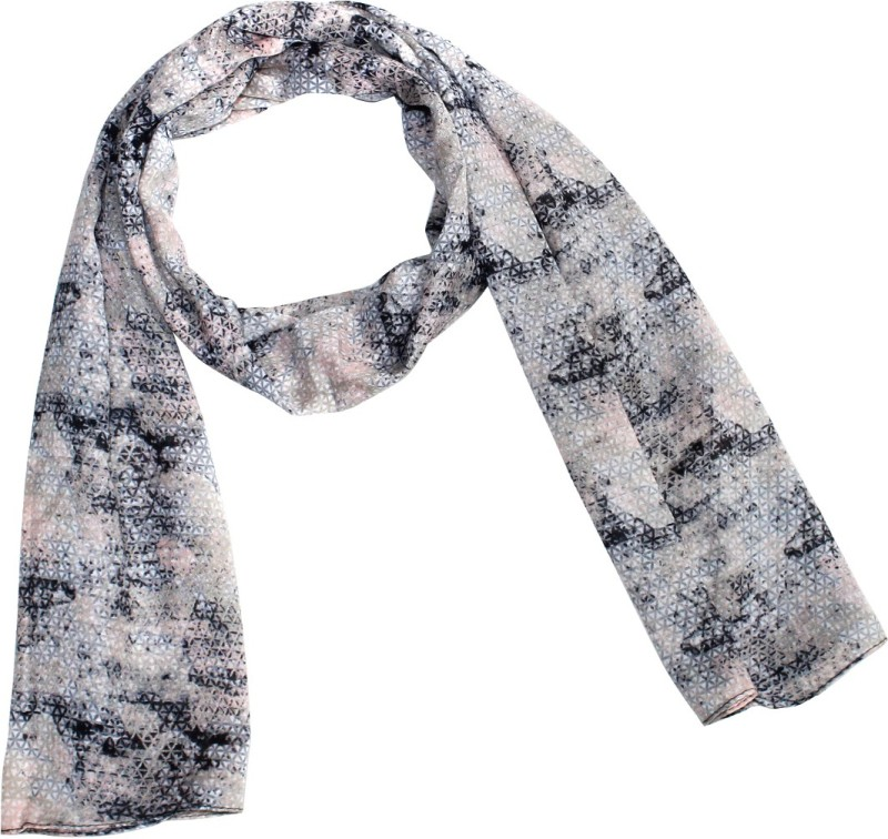 COUVRIR Printed Polyester Women's Stole
