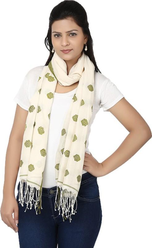 Tomorrow's Antiques Woven Cotton Women's Scarf