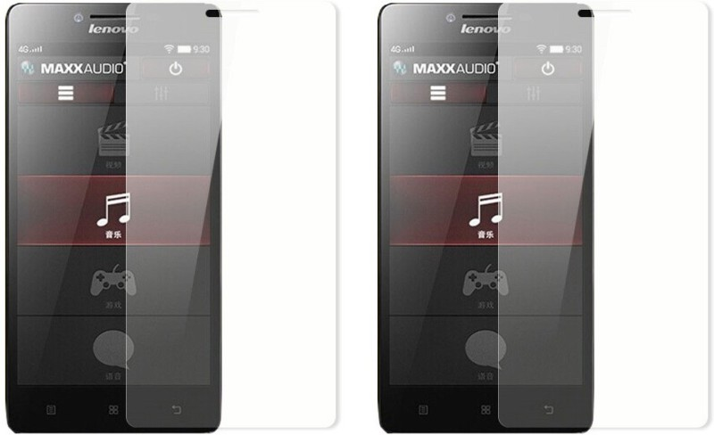 Accezory Tempered Glass Guard for Lenovo A6000 Plus