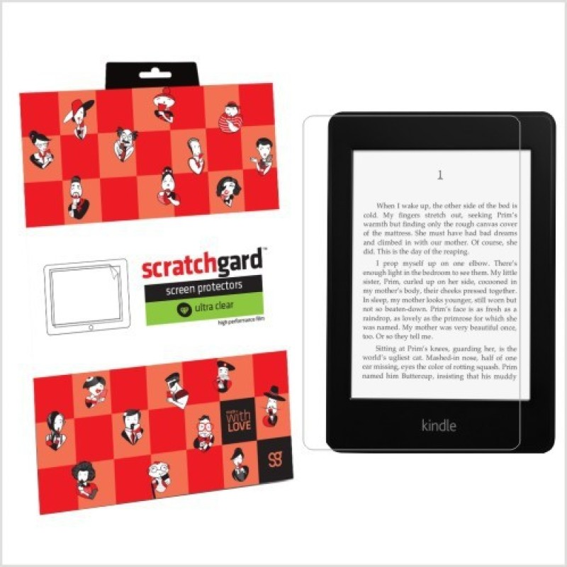 Scratchgard Screen Guard for Amazon Kindle Paperwhite/3G(Pack of 1)