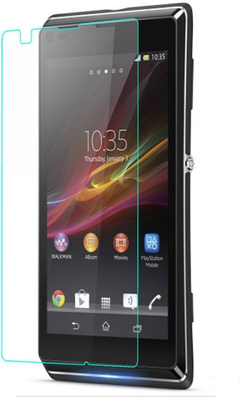 EXOIC81 Tempered Glass Guard for Sony Xperia C