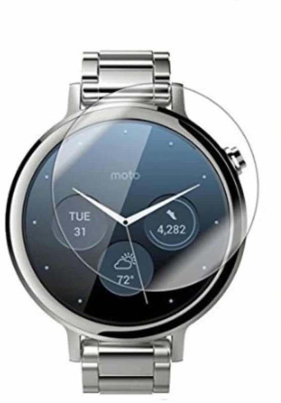iZAP Tempered Glass Guard for Moto 360 (2nd Gen) Smartwatch (42mm)(Pack of 1)