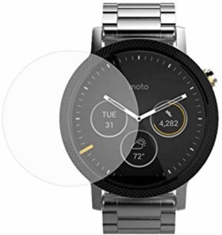 iZAP Tempered Glass Guard for Moto 360 (2nd Gen) Smartwatch (46mm)(Pack of 1)