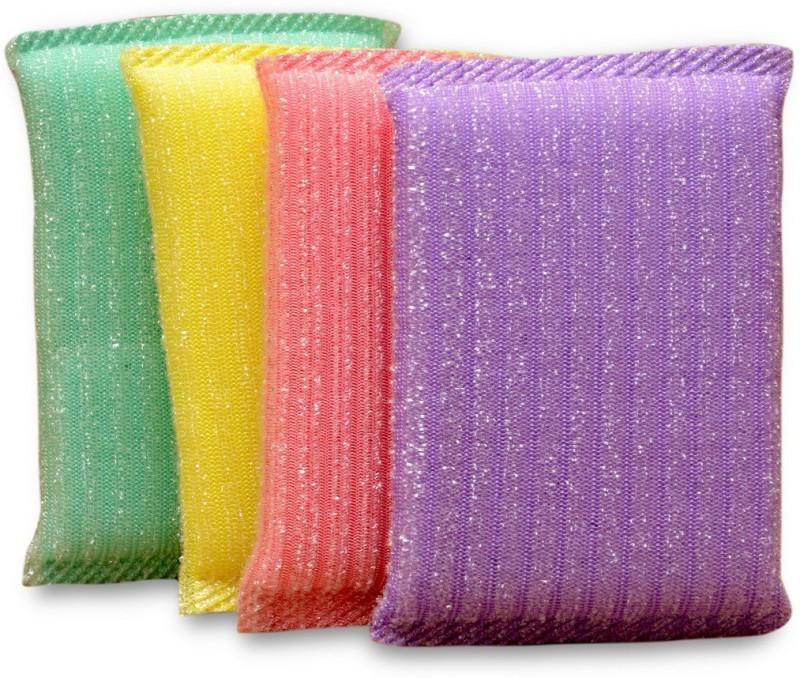 ETN Scrub Sponge(Medium, Pack of 4)