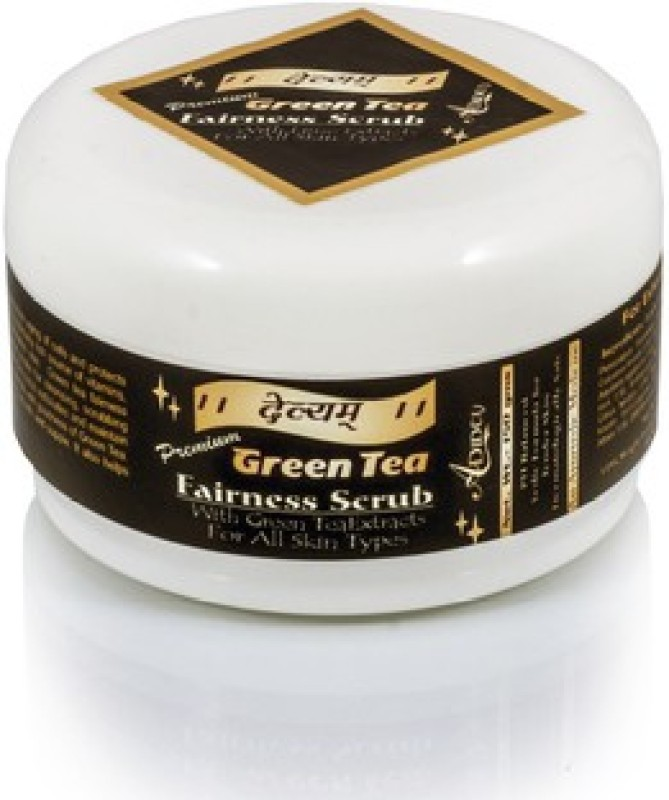 Adidev Herbals Devyam Skin Glow Green Tea Fairness Scrub(150 g)