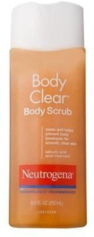 Neutrogena Clear Body Scrub(250 ml)