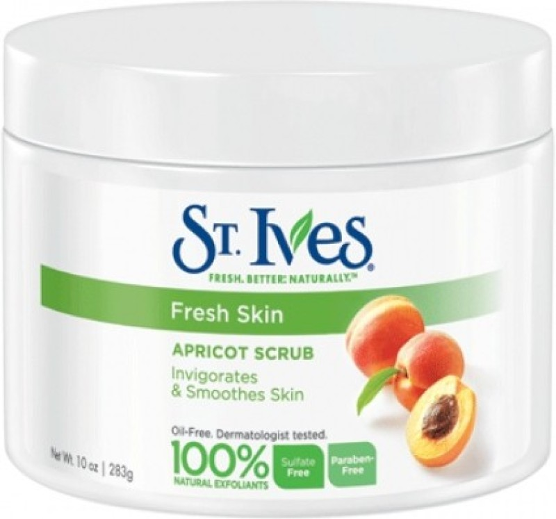 St. Ives Fresh Skin Apricot Invigorates And Smoothes Skin(Made In U.S.A) Scrub(283 g)