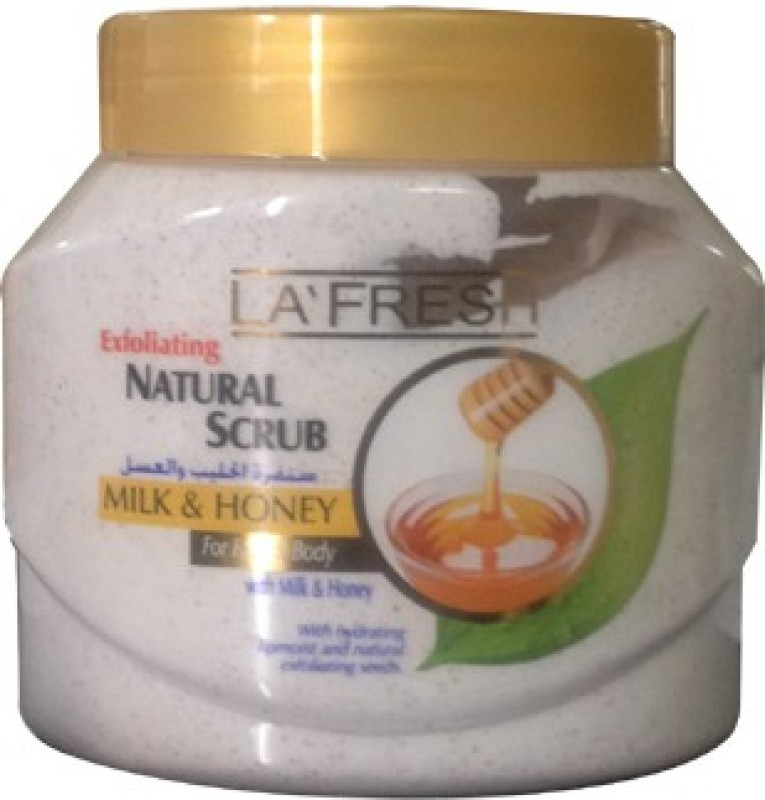 La Fresh Milk & Honey Scrub(500 g)