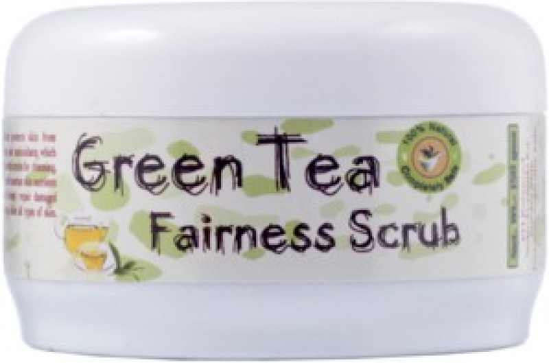 Adidev Herbals Green Tea Fairness Face Scrub(150 g)