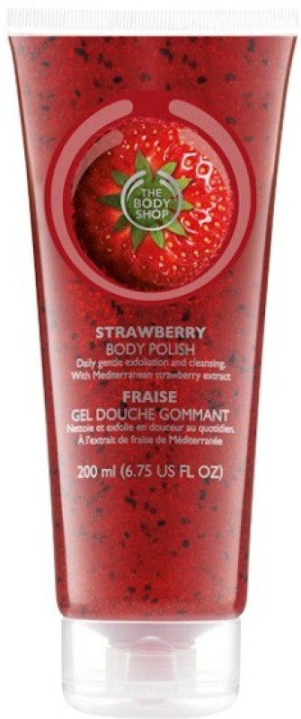 The Body Shop Strawberry Body Polish Scrub(200 ml)