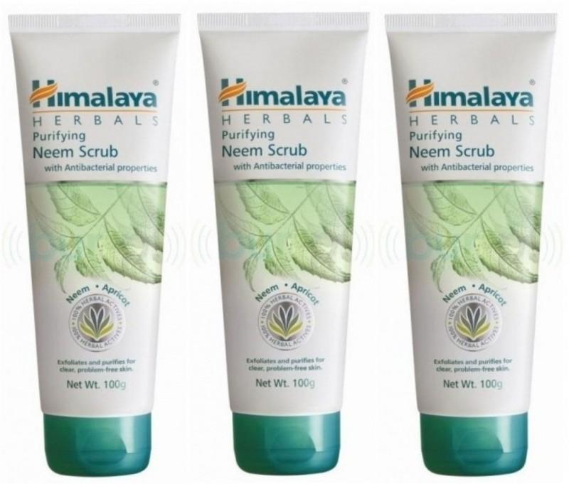 Himalaya Purifying Neem Scrub (Pack of 3) Scrub(300 g)