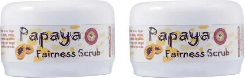 Adidev Herbals Papaya Fairness (Pack of 2) Scrub(300 g)