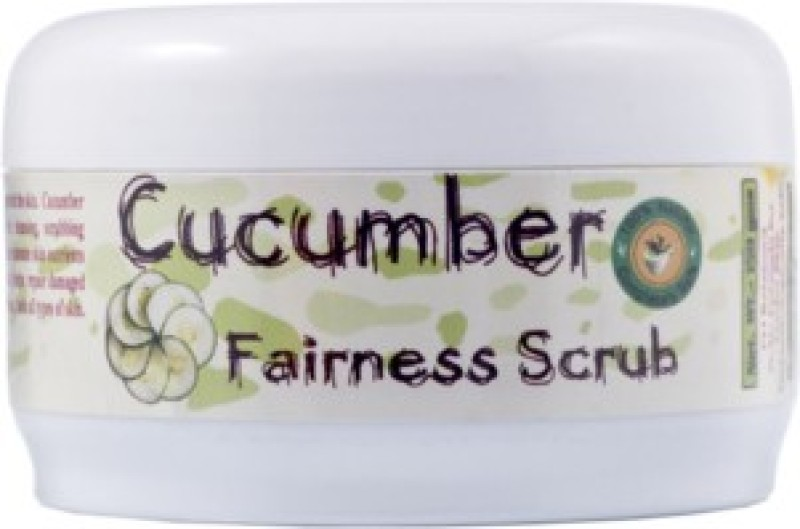 Adidev Herbals Cucumber Fairness Face Scrub(150 g)