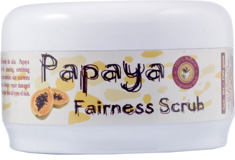 Adidev Herbals Papaya Fairness Scrub(150 g)