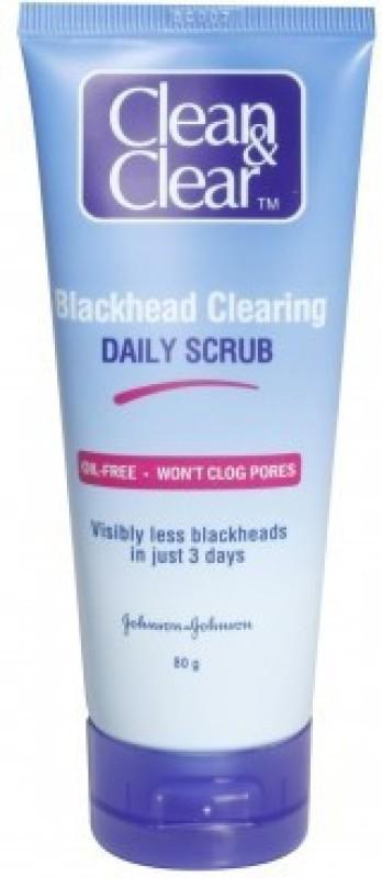 Clean & Clear Blackhead Clearing Daily Scrub(80 g)
