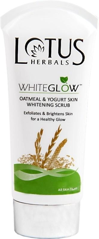 Lotus White Glow Oatmeal & Yogurt Skin Whitening Scrub(100 g)