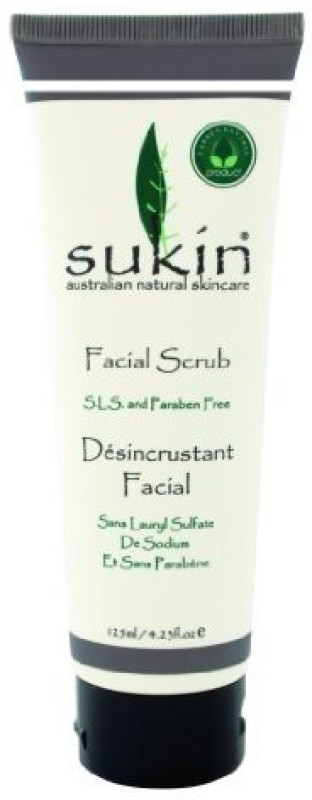 Sukin facial scrub, 4.23 fluid ounce Scrub(125 ml)