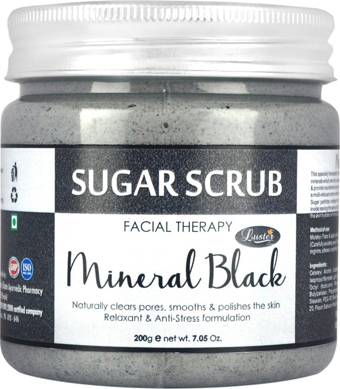 Luster Mineral Black Sugar Scrub(200 g)