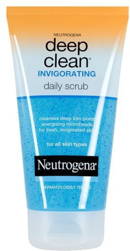Neutrogena Deep Clean Invigorating Daily Scrub(Imported Made In France) Scrub(151 ml)