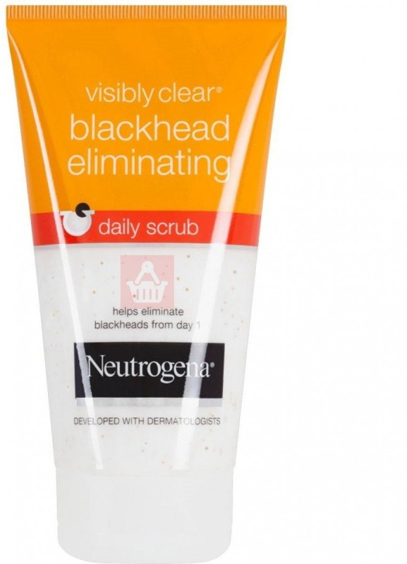 Neutrogena Visibly Clear Blackhead Eliminating Daily Scrub(149 ml)