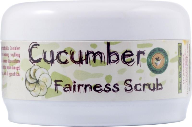 Adidev Herbals Cucumber Fairness Scrub(150 g)