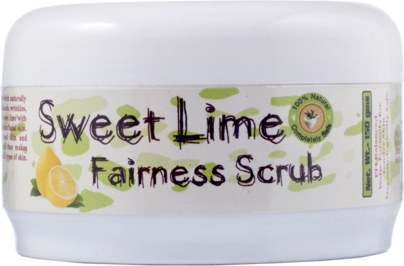 Adidev Herbals Sweet Lime Fairness Scrub(150 g)