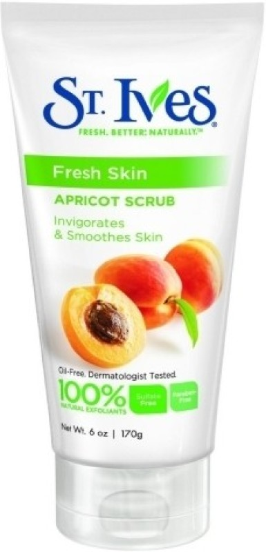 St. Ives Fresh Skin Apricot Scrub(170 gm)