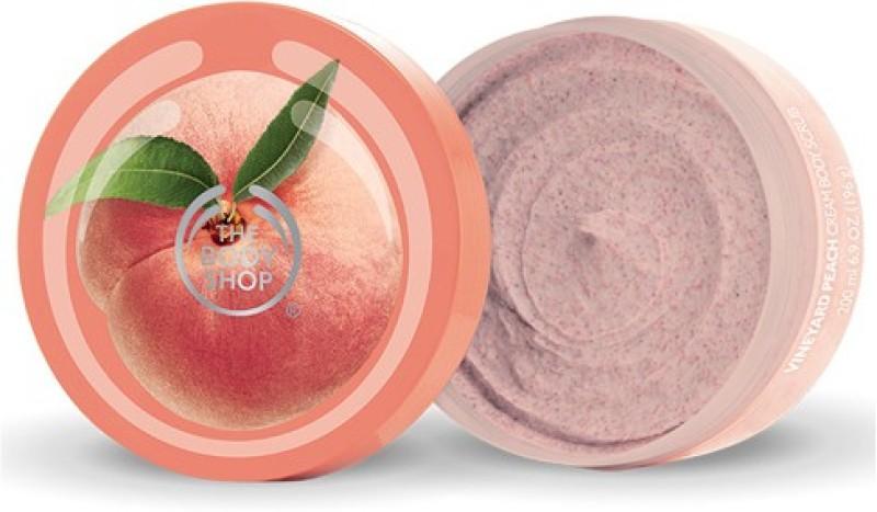 The Body Shop Vineyard Peach Cream Body Scrub(200 ml)