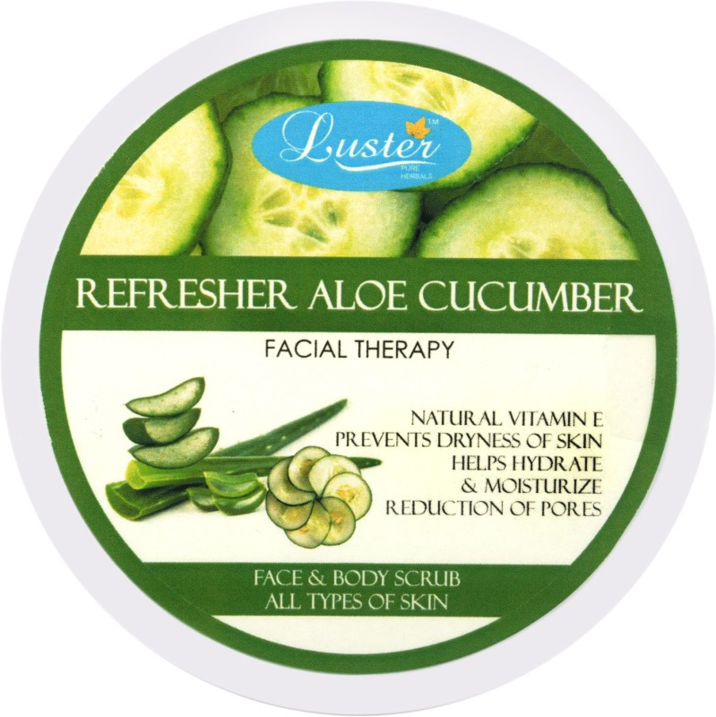 Luster Refresher Aloe Cucumber Face & Body Scrub(400 g)
