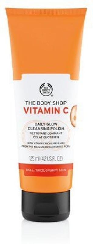 The Body Shop Vitamin C Daily Glow Cleansing Polish Scrub(125 ml)
