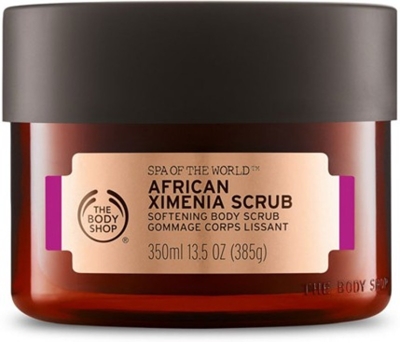 The Body Shop Spa Of The World African Ximenia Scrub(350 ml)