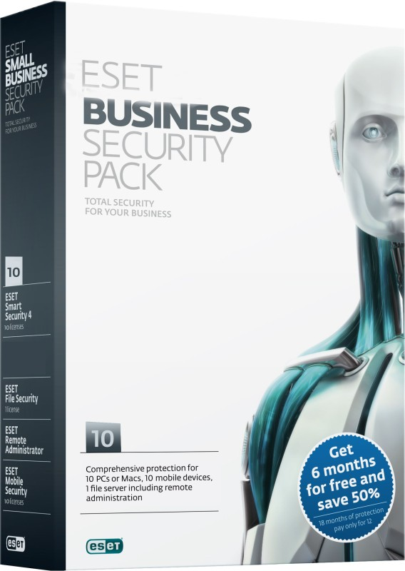 Eset Business Security Pack 10 PC 1 Year