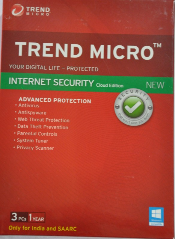 Trend Micro Trend Micro™ Internet Security 2015 3 PC 1...