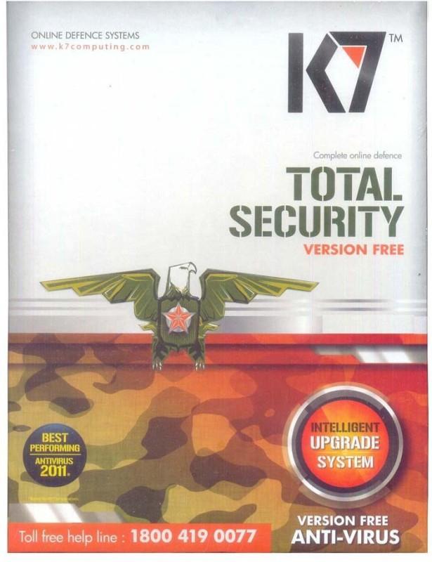 K7 Total Security Antivirus Software 1 Year 5 User