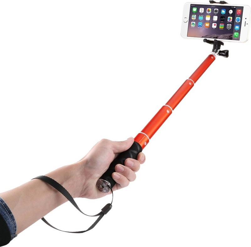 Voltaa Smile-ORG Selfie Stick(Orange)