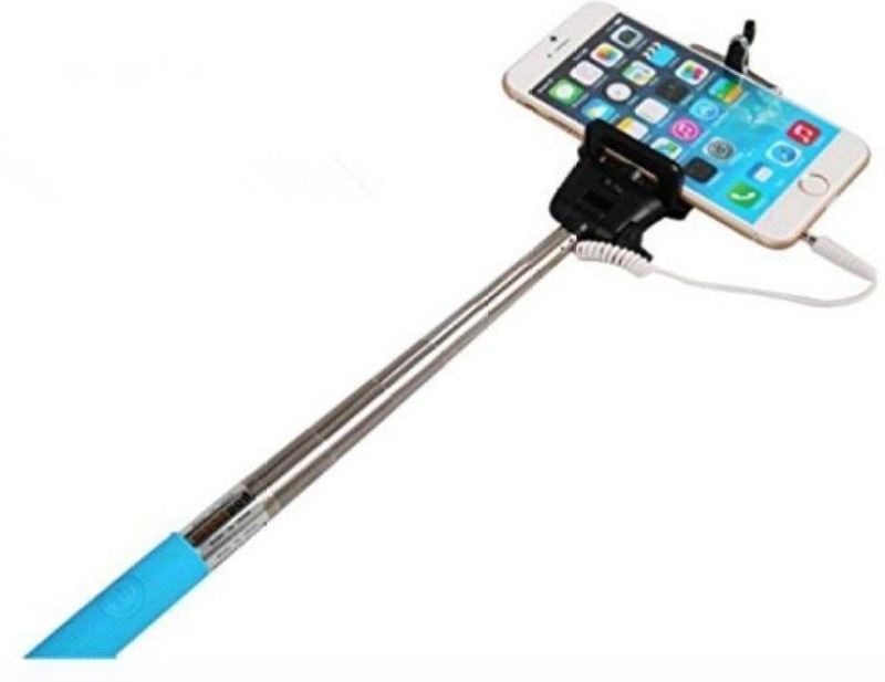 MOBI SMART MS wired 1316 Selfie Stick(Red)