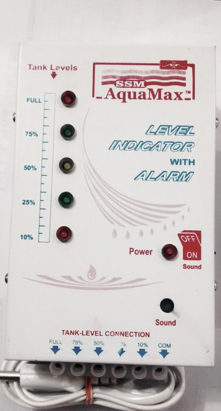 SSM AquaMax Level Indicator With 15 Mtr Wire and SS Sensor Wired Sensor Security System