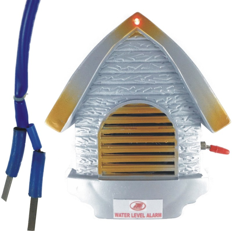 Acme Electronics WATER TANK HIGH LEVEL ALARM:BATTERY OPERATED WITH STEEL SENSORS Wired Sensor Security System