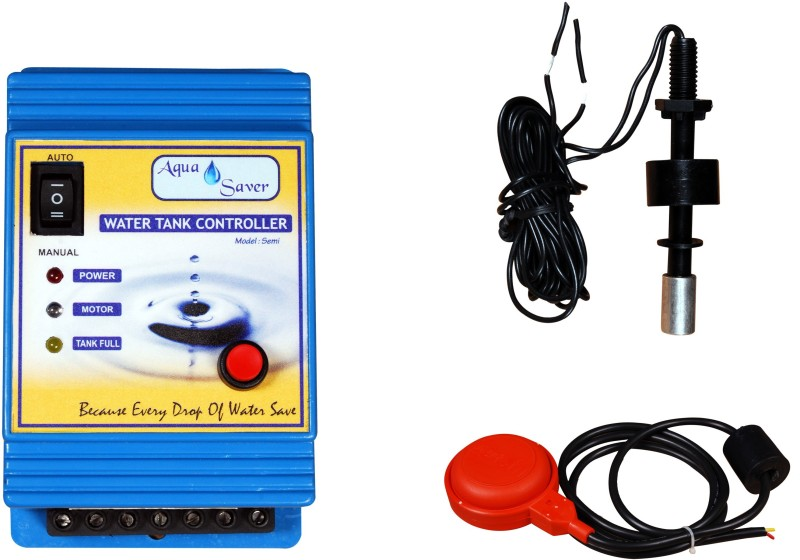 Aquasaver AutomaticWater TankOverflow and Pump Dryrun Stopper Wired Sensor Security System