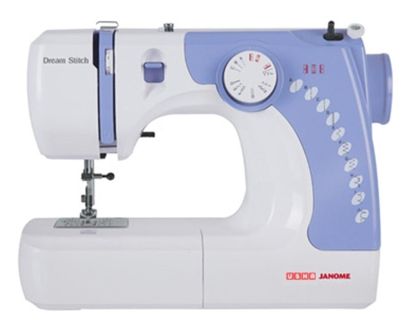 Usha Dream Stitch Electric Sewing Machine( Built-in Stitches 7)