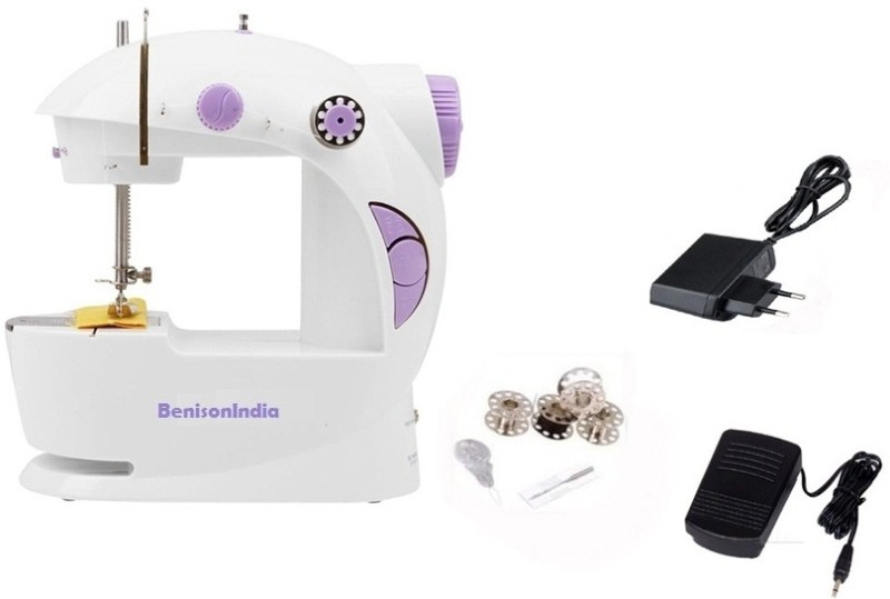 Benison India 4-In-1 Powerstitch Portable Electric Sewing Machine( Built-in Stitches 45)