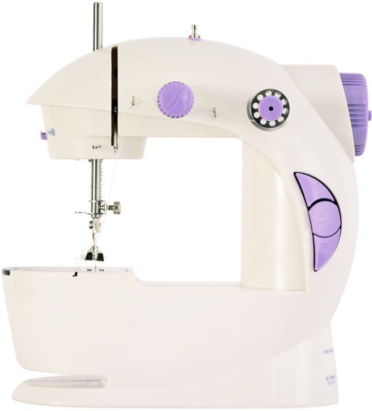 Shopper hub Portable & Compact 4 in 1 Mini Adapter Foot Pedal Sewing Machine Base Yes(Plastic)