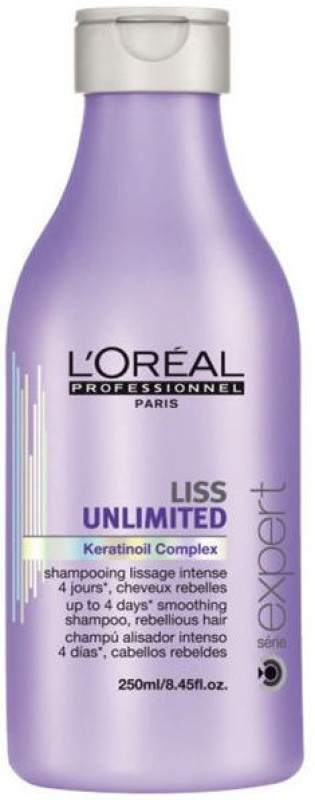 LOreal Paris 1 Paris liss Unlimited KeratinOil Comlex Smoothing Shampoo(250 ml)