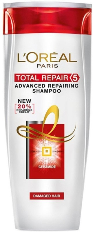 LOreal Total Repair 5 Advanced Repairing Shampoo(174 ml)