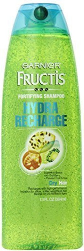 Garnier Skin Fructis Hydra Recharge Shampoo for Normal to Dry Hair, 13 Fluid Ounce(384 ml)