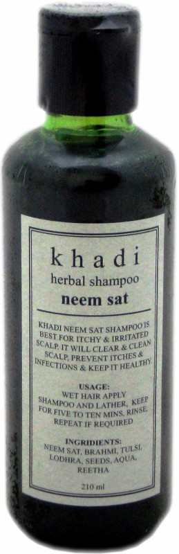 Khadi Herbal Neem Sat Shampoo(210 ml)